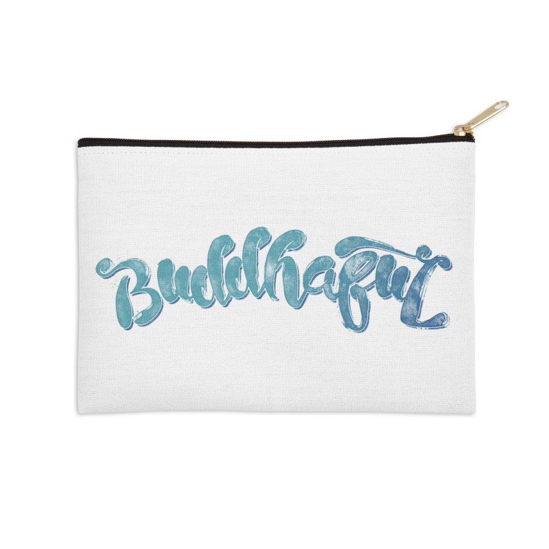 Buddhaful Colors Accessories Zip Pouch by Zen the Machine