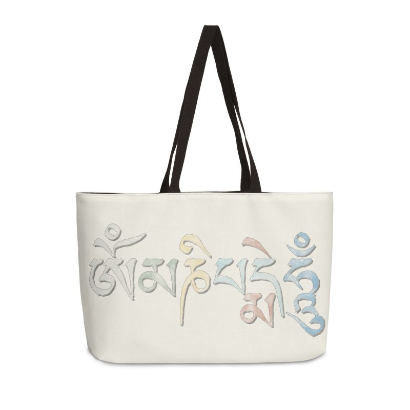 Om Mani Padme Hum–Tibetan Accessories Bag by Zen the Machine