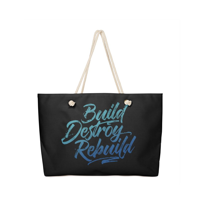 Build Destroy Rebuild Accessories Bag by Zen the Machine
