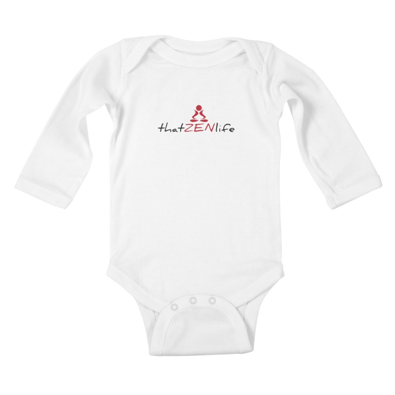 that Zen life 2 Kids Baby Longsleeve Bodysuit by zenyogagarage's Artist Shop