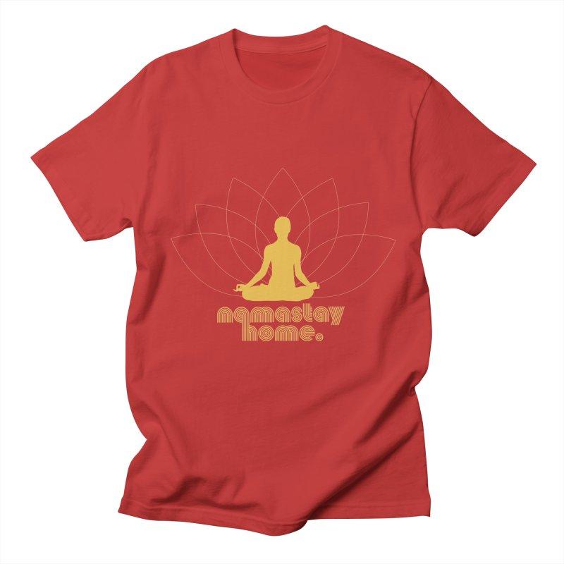 Namastay Home Women's T-Shirt by zenyogagarage's Artist Shop
