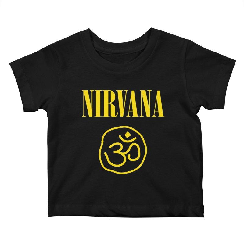 Nirvana Kids Baby T-Shirt by zenyogagarage's Artist Shop