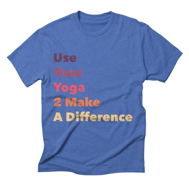 Karma Yoga Men's T-Shirt by zenyogagarage's Artist Shop