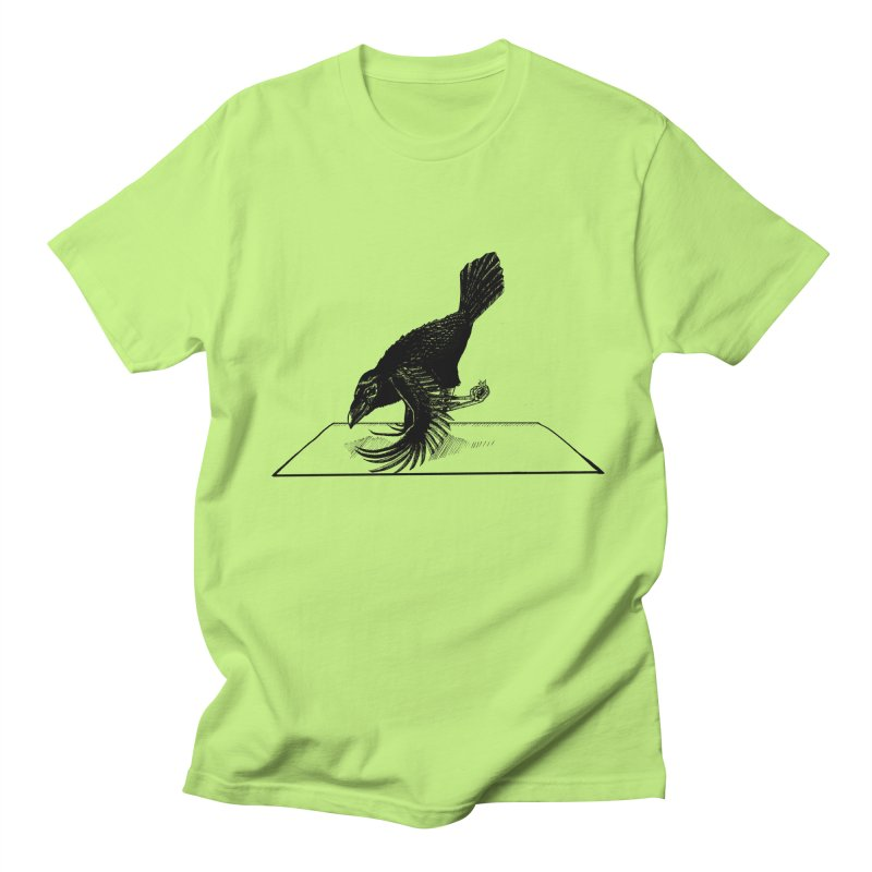 Crow Pose Men's Regular T-Shirt by zenyogagarage's Artist Shop