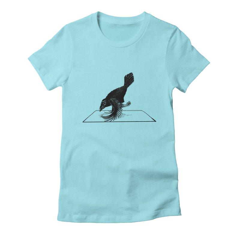 Crow Pose Women's T-Shirt by zenyogagarage's Artist Shop
