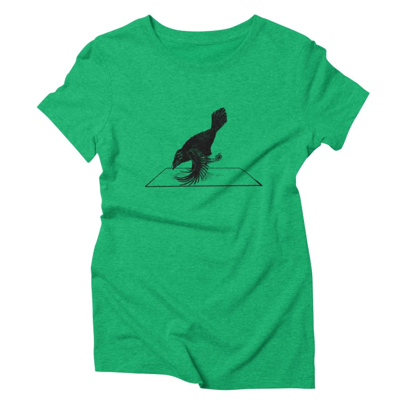 Crow Pose Women's Triblend T-Shirt by zenyogagarage's Artist Shop