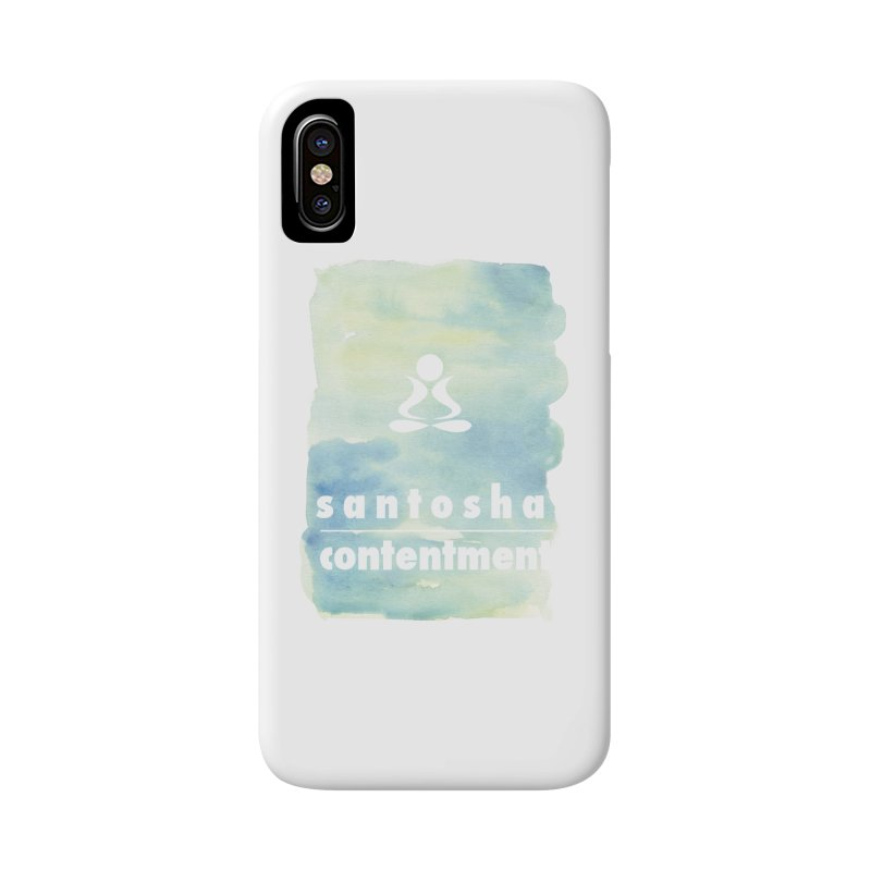 Be Content. Accessories Phone Case by zenyogagarage's Artist Shop