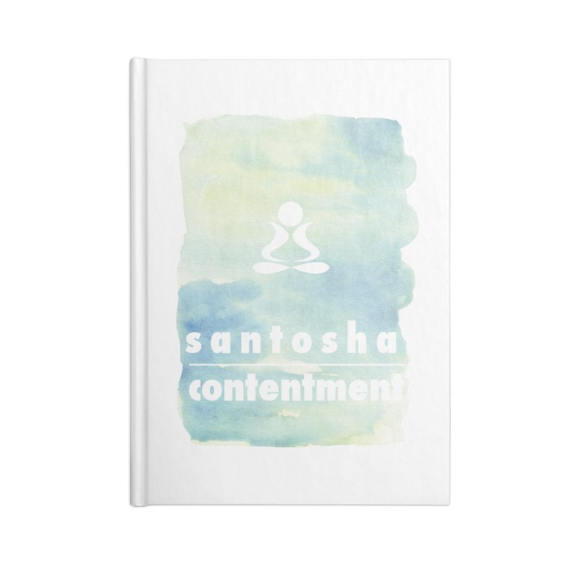Be Content. Accessories Notebook by zenyogagarage's Artist Shop