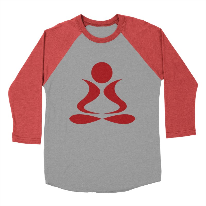 ZYG Buddha Women's Baseball Triblend T-Shirt by zenyogagarage's Artist Shop