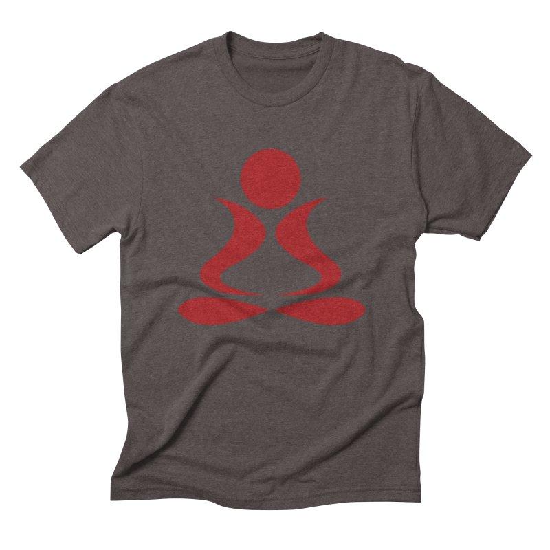 ZYG Buddha Men's Triblend T-shirt by zenyogagarage's Artist Shop