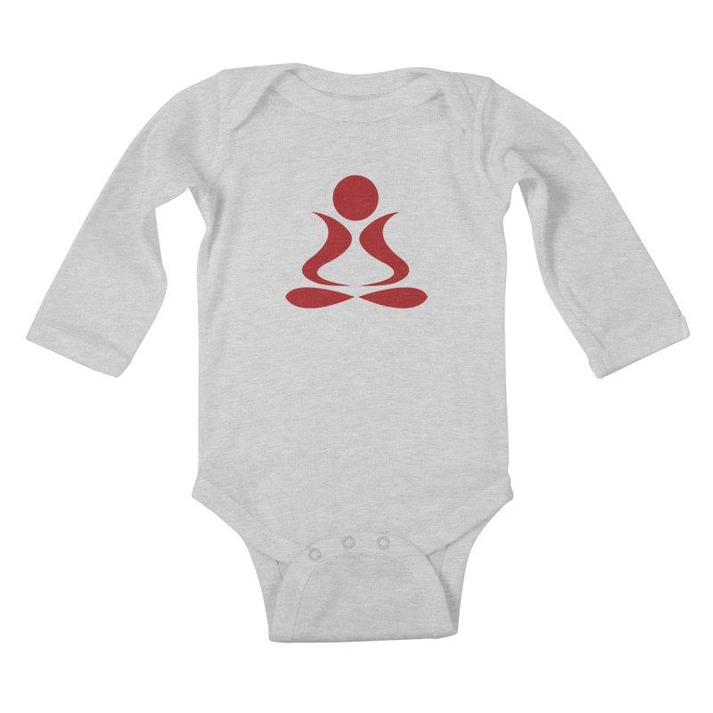 ZYG Buddha Kids Baby Longsleeve Bodysuit by zenyogagarage's Artist Shop
