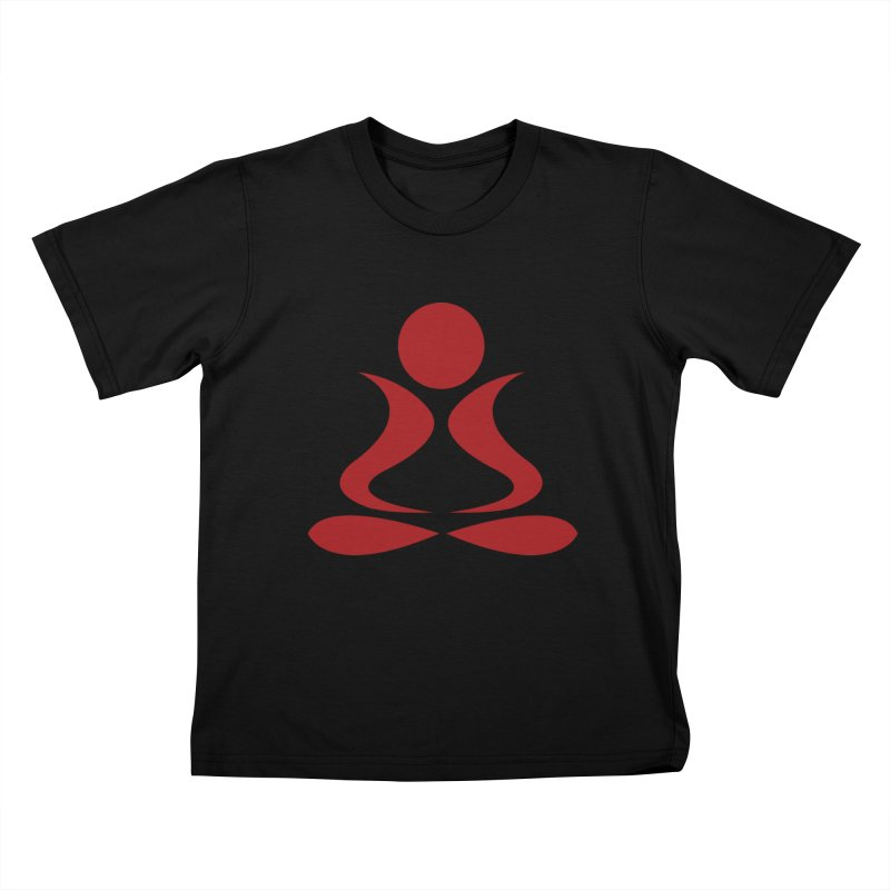 ZYG Buddha Kids T-Shirt by zenyogagarage's Artist Shop