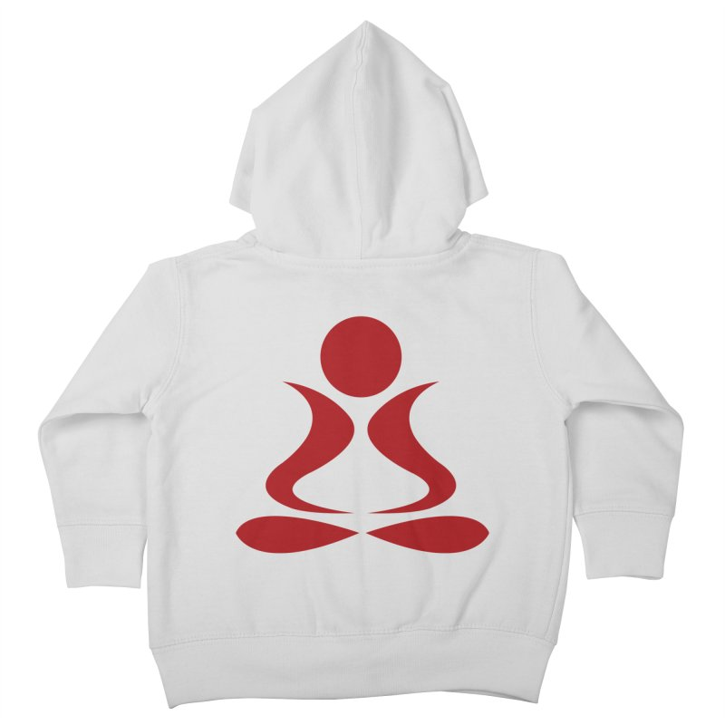 ZYG Buddha Kids Toddler Zip-Up Hoody by zenyogagarage's Artist Shop