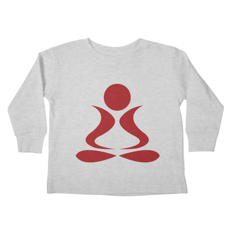 ZYG Buddha Kids Toddler Longsleeve T-Shirt by zenyogagarage's Artist Shop