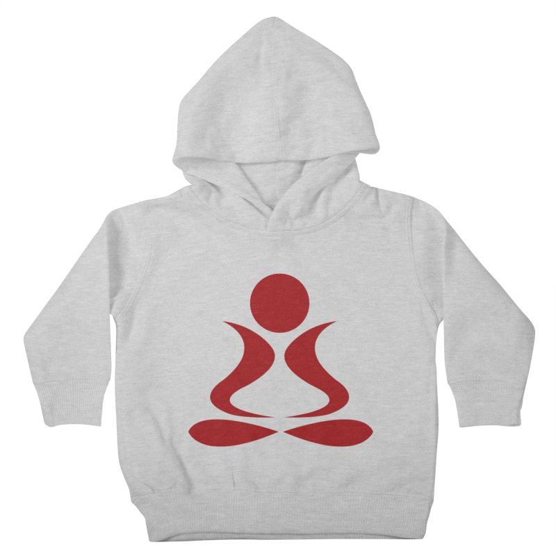 ZYG Buddha Kids Toddler Pullover Hoody by zenyogagarage's Artist Shop