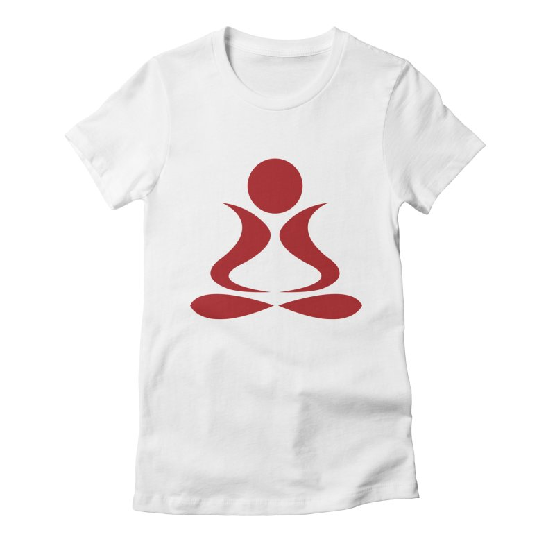 ZYG Buddha Women's Fitted T-Shirt by zenyogagarage's Artist Shop