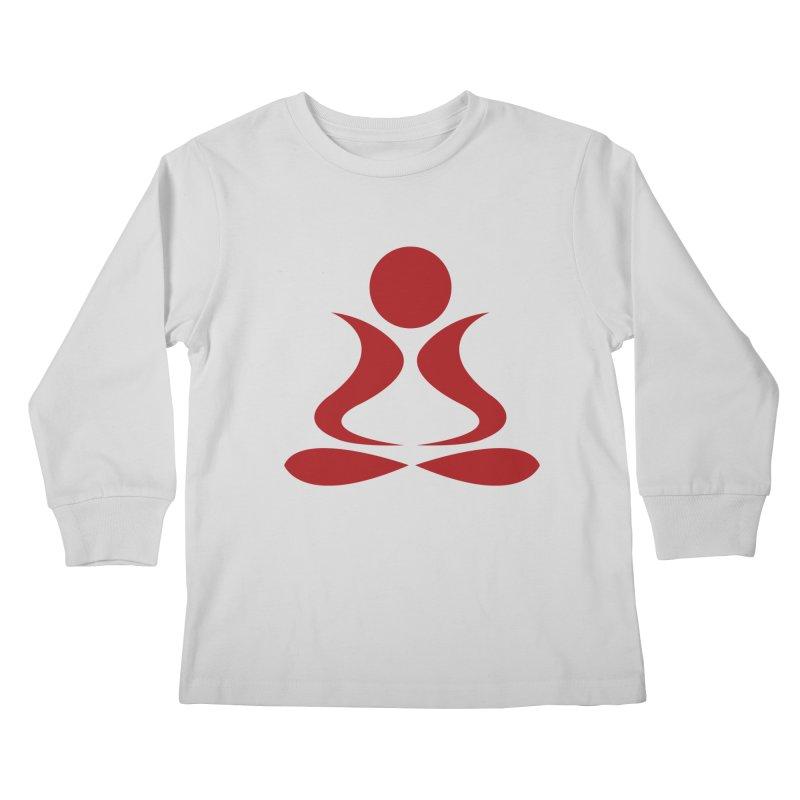 ZYG Buddha Kids Longsleeve T-Shirt by zenyogagarage's Artist Shop