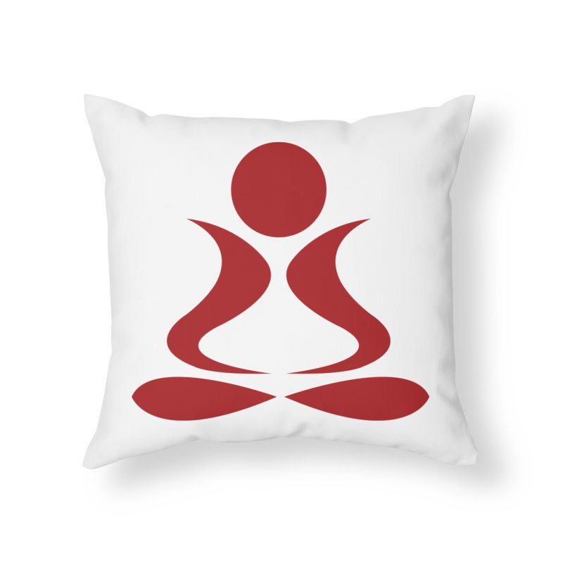 ZYG Buddha Home Throw Pillow by zenyogagarage's Artist Shop