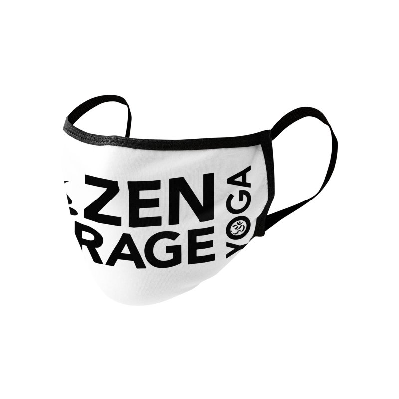 ZYG logo black Accessories Face Mask by zenyogagarage's Artist Shop
