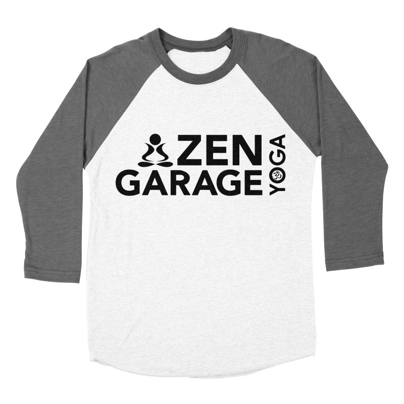 ZYG logo black Women's Longsleeve T-Shirt by zenyogagarage's Artist Shop