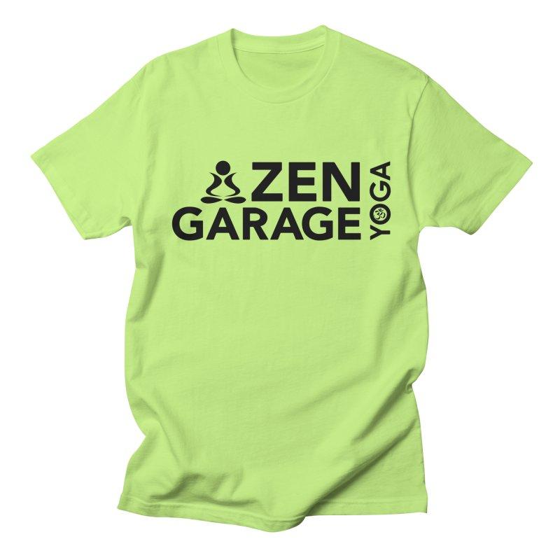 ZYG logo black Men's T-shirt by zenyogagarage's Artist Shop