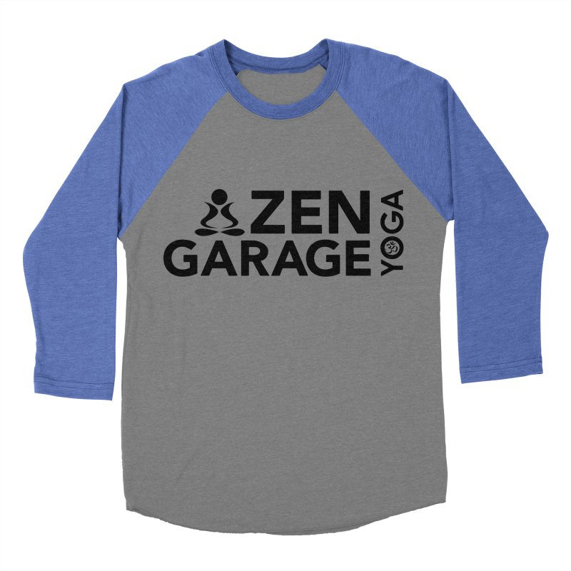 ZYG logo black Women's Baseball Triblend Longsleeve T-Shirt by zenyogagarage's Artist Shop