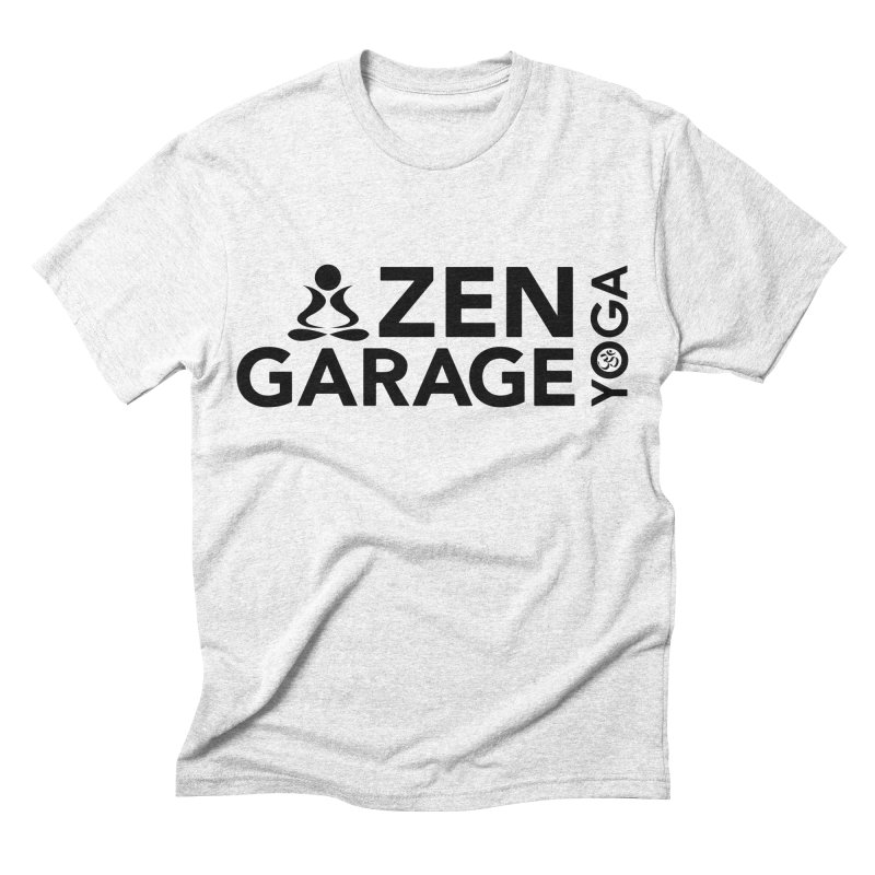 ZYG logo black Men's Triblend T-shirt by zenyogagarage's Artist Shop