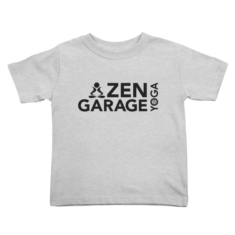 ZYG logo black Kids Toddler T-Shirt by zenyogagarage's Artist Shop