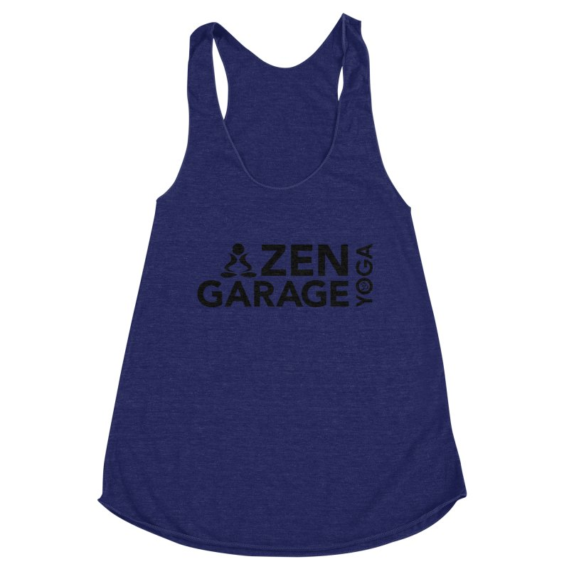 ZYG logo black Women's Tank by zenyogagarage's Artist Shop