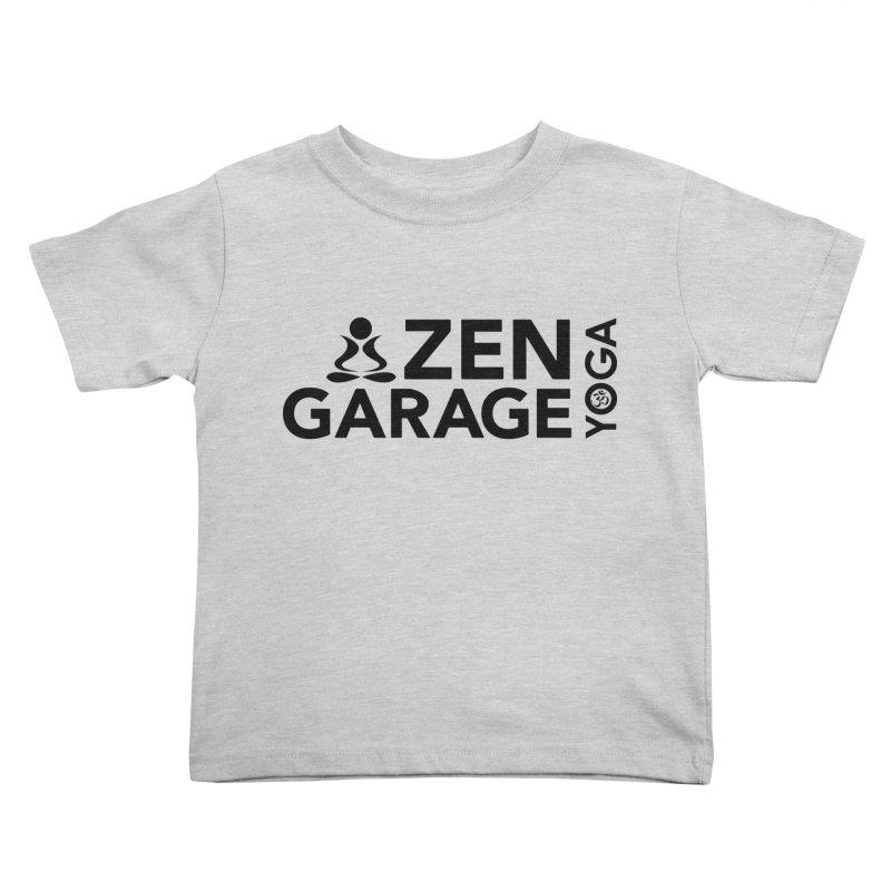 ZYG logo black Kids Toddler T-Shirt by zenyogagarage's Artist Shop