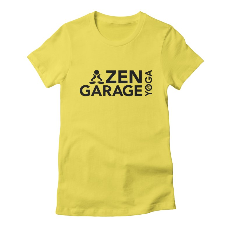 ZYG logo black Women's T-Shirt by zenyogagarage's Artist Shop