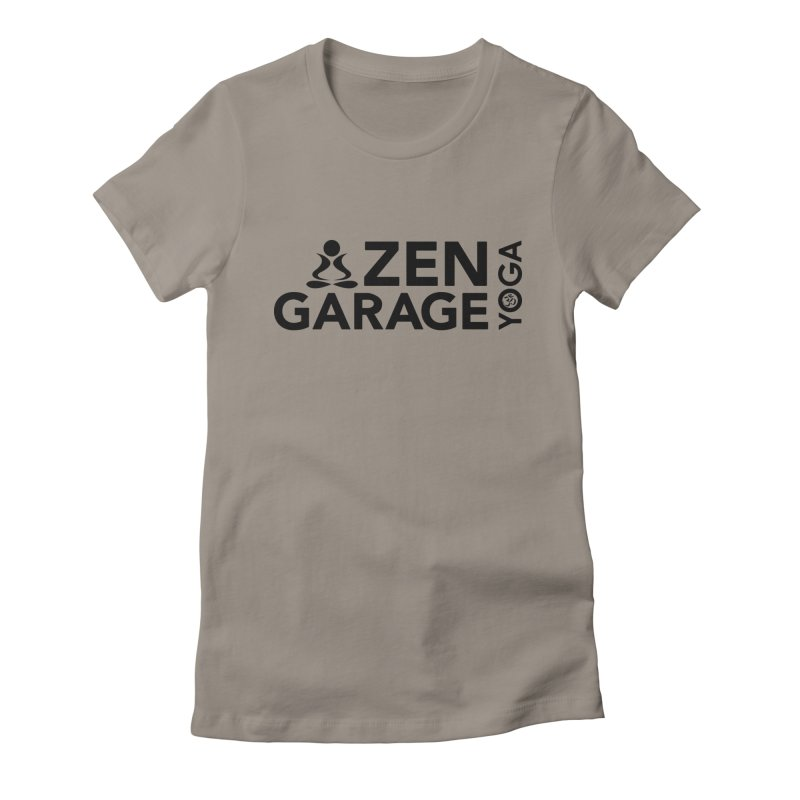 ZYG logo black Women's T-Shirt by zenyogagarage's Artist Shop