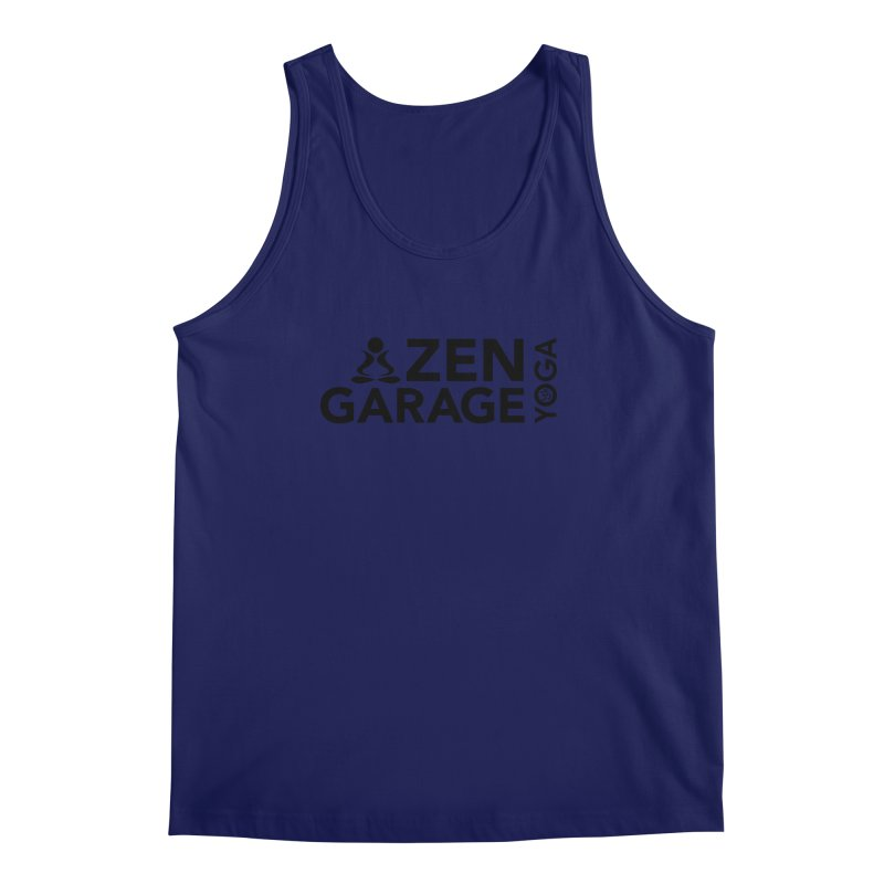 ZYG logo black Men's Regular Tank by zenyogagarage's Artist Shop