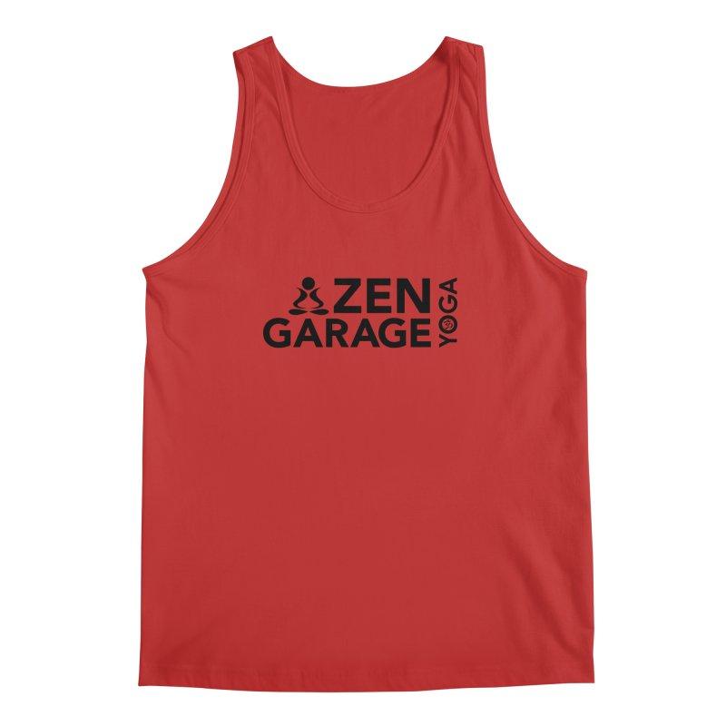 ZYG logo black Men's Regular Tank by zenyogagarage's Artist Shop