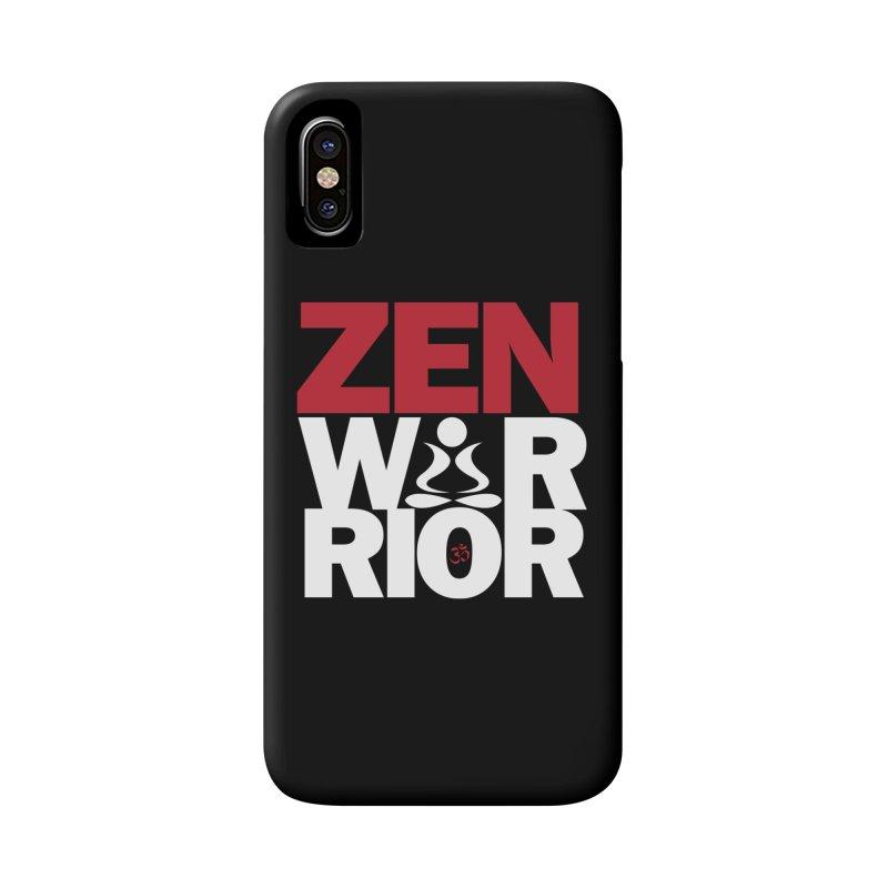 ZenWarrior Accessories Phone Case by zenyogagarage's Artist Shop