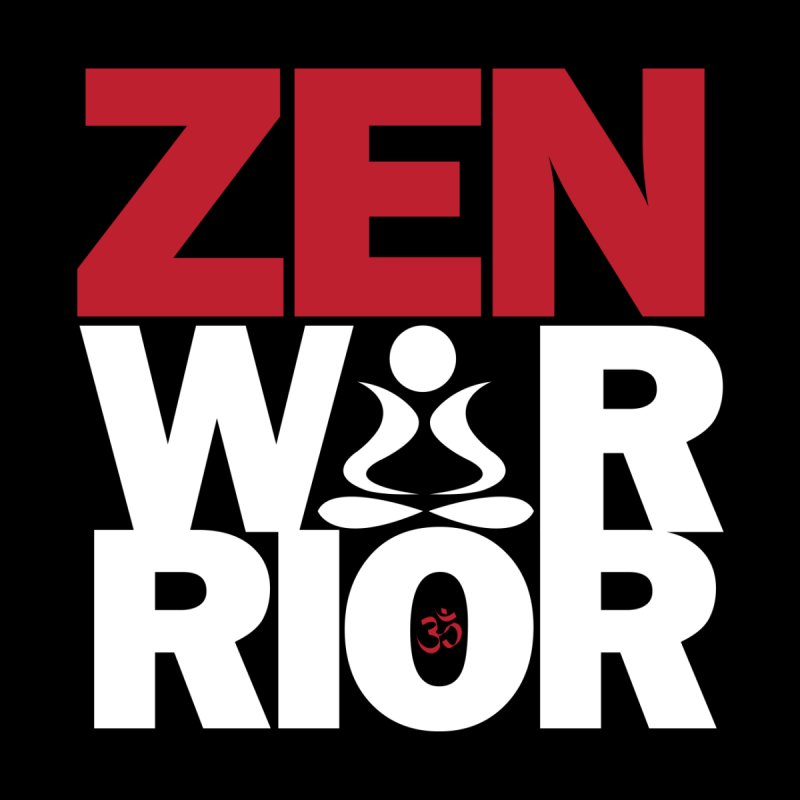 ZenWarrior Home Throw Pillow by zenyogagarage's Artist Shop