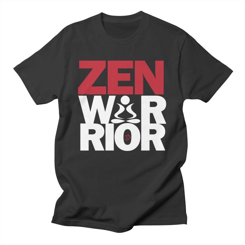 ZenWarrior Men's T-Shirt by zenyogagarage's Artist Shop
