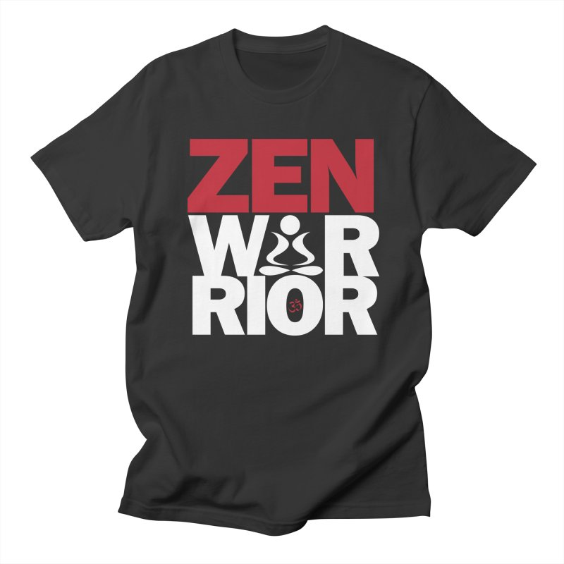 ZenWarrior Men's T-Shirt by zenyogagarage's Artist Shop
