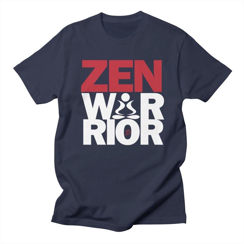 ZenWarrior Men's Regular T-Shirt by zenyogagarage's Artist Shop