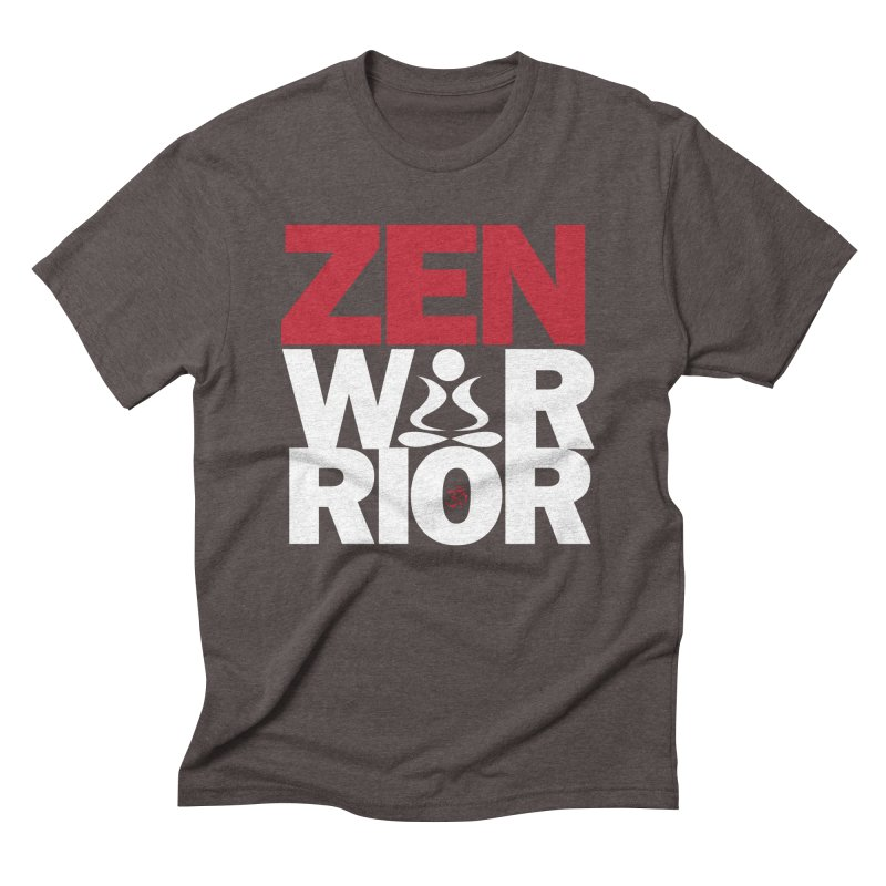 ZenWarrior Men's Triblend T-Shirt by zenyogagarage's Artist Shop