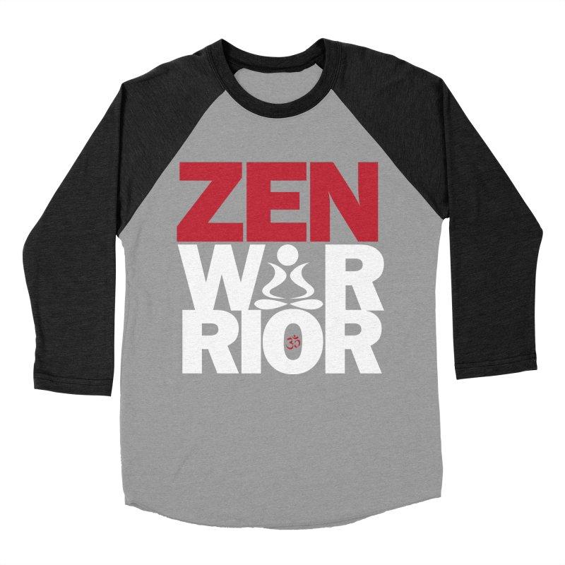 ZenWarrior Men's Baseball Triblend Longsleeve T-Shirt by zenyogagarage's Artist Shop