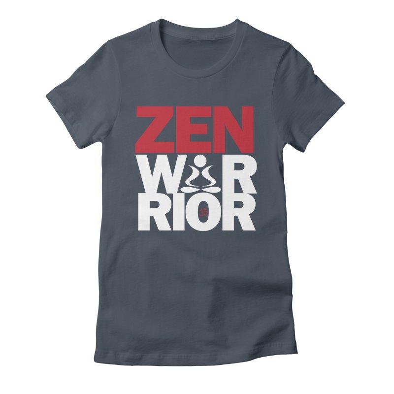 ZenWarrior Women's T-Shirt by zenyogagarage's Artist Shop