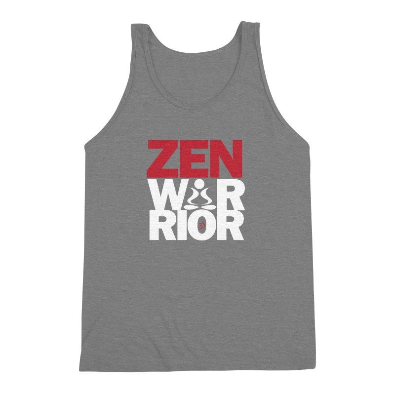 ZenWarrior Men's Tank by zenyogagarage's Artist Shop