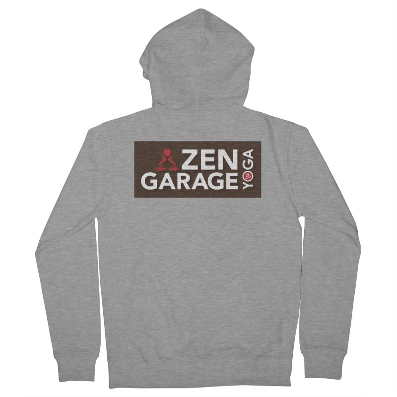 ZYG Logo Women's French Terry Zip-Up Hoody by zenyogagarage's Artist Shop