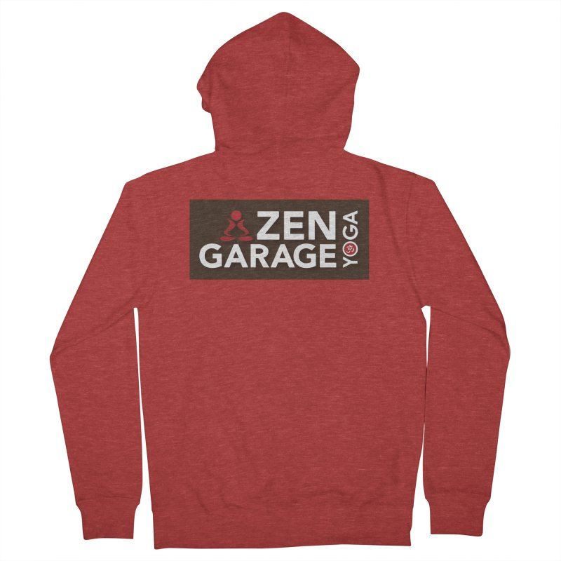 ZYG Logo Men's Zip-Up Hoody by zenyogagarage's Artist Shop