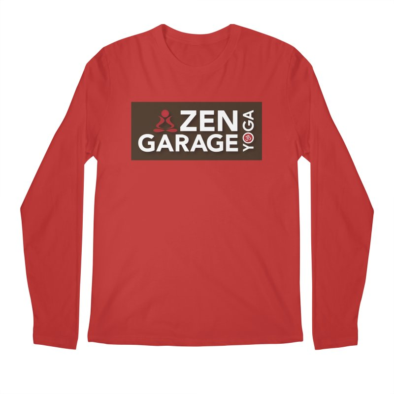 ZYG Logo Men's Regular Longsleeve T-Shirt by zenyogagarage's Artist Shop