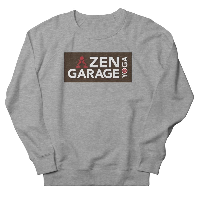 ZYG Logo Women's French Terry Sweatshirt by zenyogagarage's Artist Shop