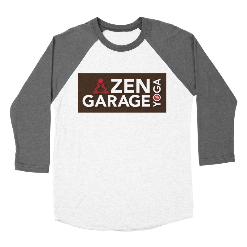 ZYG Logo Women's Baseball Triblend Longsleeve T-Shirt by zenyogagarage's Artist Shop