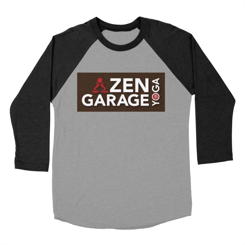 ZYG Logo Women's Baseball Triblend T-Shirt by zenyogagarage's Artist Shop