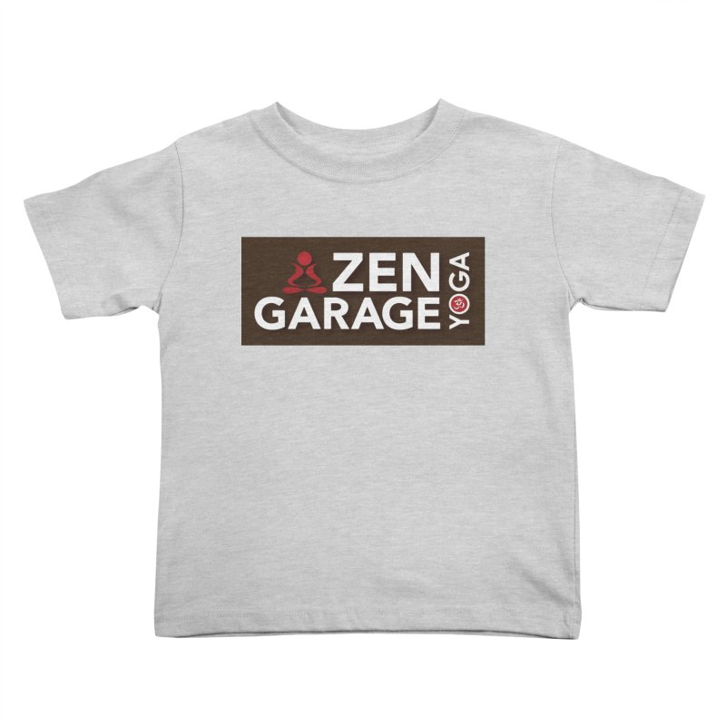 ZYG Logo Kids Toddler T-Shirt by zenyogagarage's Artist Shop
